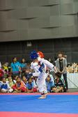 Šampionát v Taekwondo — Stock fotografie