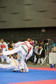 Campionato di Taekwondo — Foto Stock