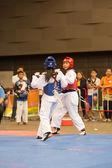 чемпионат по тхэквондо — Стоковое фото