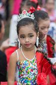 Desfile do esporte de crianças — Fotografia Stock