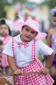 Kinder sport Umzug — Stockfoto