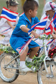 Kids sport parade — Stock Photo