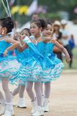 Kids sport parade — Stock Photo