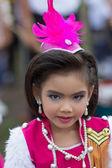 Thai students during sport parade 2014 — Stockfoto