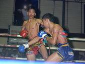 Thai boxing — Stock Photo