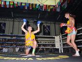 тайский бокс — Стоковое фото