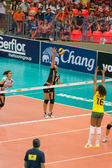Volleyball World Grand Prix 2014 — Stock Photo