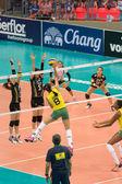 Volleyball World Grand Prix 2014 — 图库照片