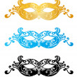 Fashion carnival mask illustration — Stock Vector