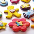 colorful cookies — Stock Photo