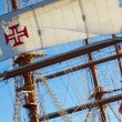 Ship Rigging — 图库照片