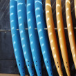 Standing Surf boards — Foto de Stock