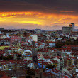 Lisbon at Sunset - Stockfoto