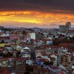 Lisbon at Sunset — Stock Photo