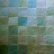 Stock Photo: Green Tiles