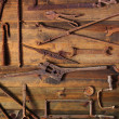 Rusty Tools - Stockfoto