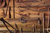 Rusty Tools — Stock Photo