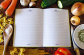 Recipe Book — Stockfoto