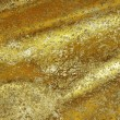 Golden Fabric - Stock Photo