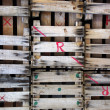 Wooden Pallets - Foto Stock