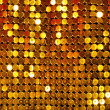 Golden Shining Mesh - Stock Photo