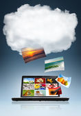 Cloud technologie — Stock fotografie