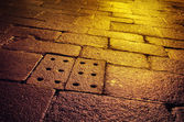 Wet Old Pavement — Stock Photo