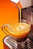 Taze espresso — Stok fotoğraf