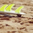 Surfboard fins — Stock Photo