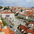 Rossio Square - Stock Photo