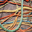 Stock Photo: Fishing Ropes and Net
