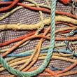 Fishing Ropes and Net — Stock Photo