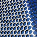 Metallic Grid — Stock Photo
