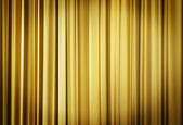 Yellow Theater Curtains — Stock Photo