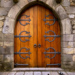 Stock Photo: Castle Door