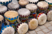 Colorful Congas — Stock Photo