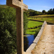 Ancient Romanic Bridge  — Stock Photo