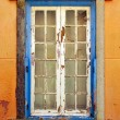 Stock Photo: Blue Window