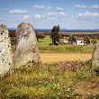 Megalithic Menhirs — Stock Photo