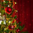 Stock Photo: Christmas Tree Detail