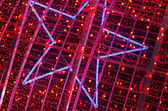 Red Christmas Lights — Stock Photo