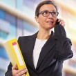 Stock Photo: Business Brunette Woman
