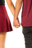Holding Hands — Stockfoto