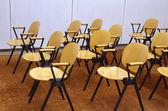 Dřevěné židle — Stock fotografie