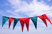 Hanged Pennants — Stock Photo