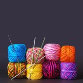 Yarn Coils — Stock Photo