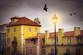 Lizbona domy — Zdjęcie stockowe