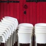 White Chairs — Stock Photo #51480031