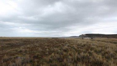Shipwreck Desdemona in Tierra del Fuego — Stock Video