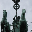 Quadriga at the Brandenburg Gate in Berlin — Wideo stockowe